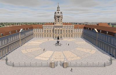 Animation Schloss Charlottenburg